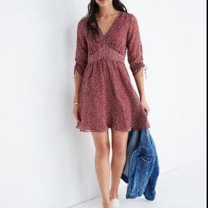 Madewell Starviolet mini Dress in Ditsy Flowers
